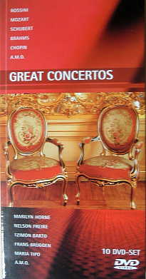 「Great Concertos」10 DVD-SET